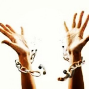 God breaks the chains